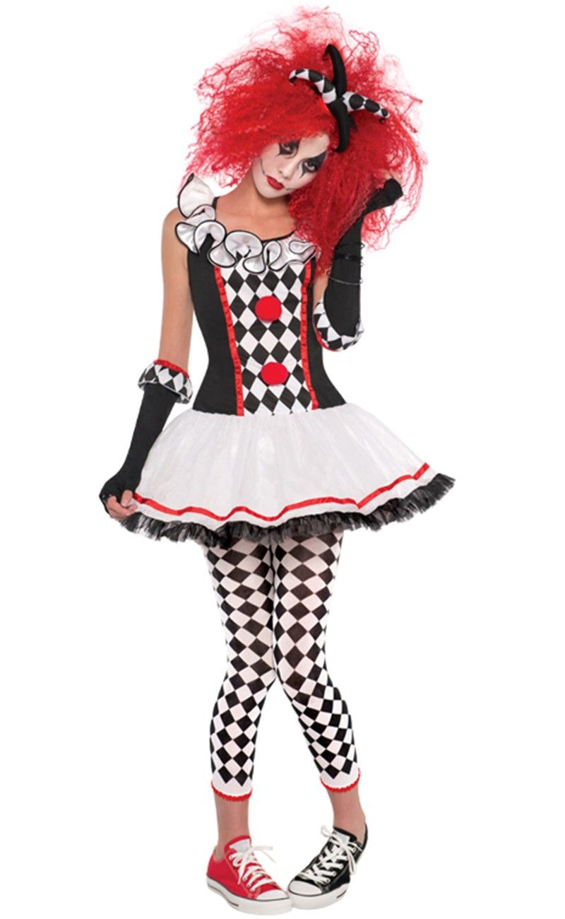 Killer Clown Halloween Costumes For Girls.Sexy Killer Clown Costume Google Search Halloween Clown Fancy