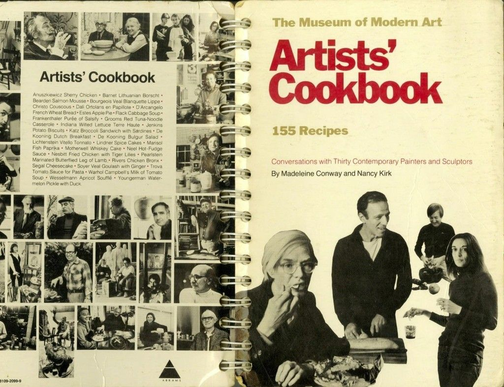 Andy warhol artists cookbook conversations with 30