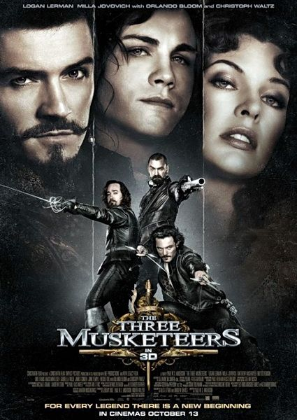 The Three Musketeers 2011 D Paul W S Anderson Filmes Cinema