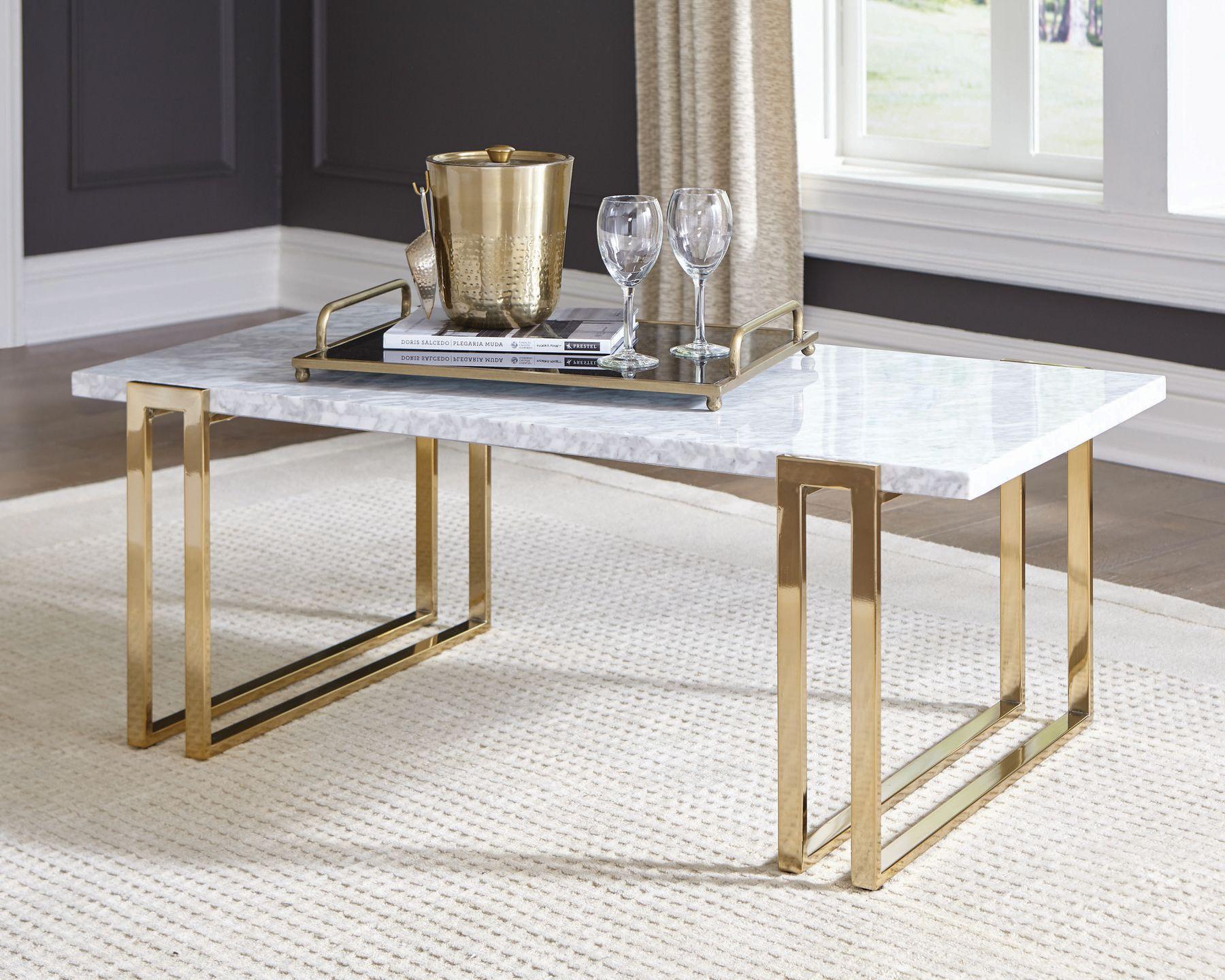 Cs738 Coffee Table 722738 Coaster Furniture Coffee Tables Coffee Table Rectangle Solid Coffee Table Gold Coffee Table [ 1440 x 1800 Pixel ]