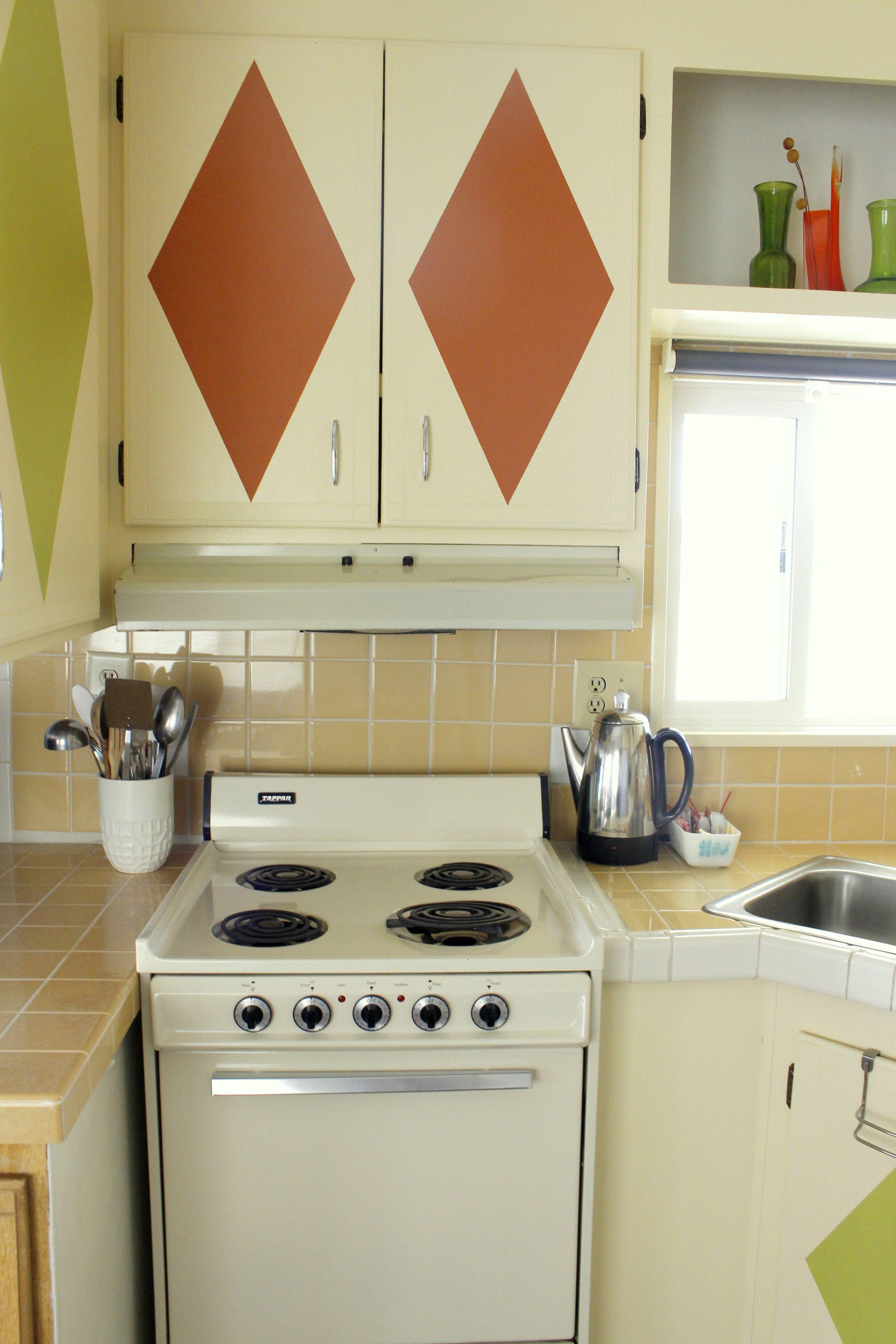 Best The Retro Pod Mobile Home Vacation Rental Cream Kitchen 400 x 300
