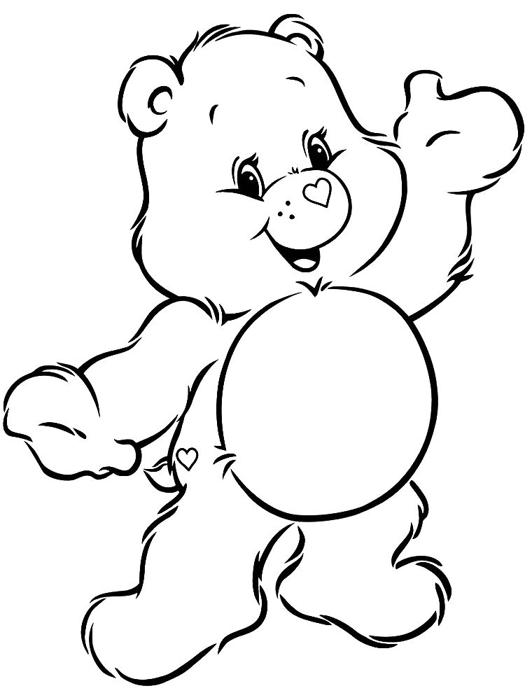 Baby Bear Coloring Pages The Following Is Our Bear Coloring Page Collection You Are Free Bear Coloring Pages Birthday Coloring Pages Halloween Coloring Pages