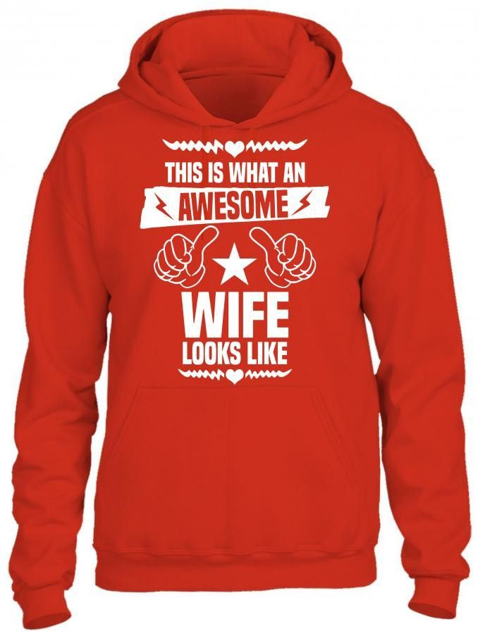 this is what an awesome wife looks like 1 HOODIE