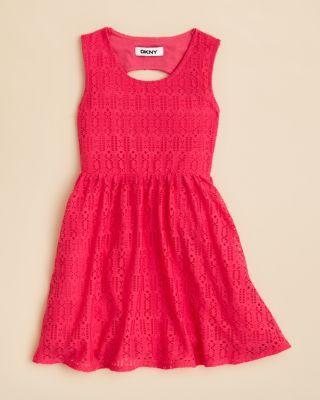 d394f35e87391 DKNY Girls' Abigail Lace Dress - Sizes 2T-4T | Bloomingdale's | Tiny ...