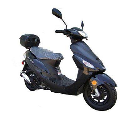 50cc Gas Street Legal Scooter Taotao Atm50 A1 Black Best