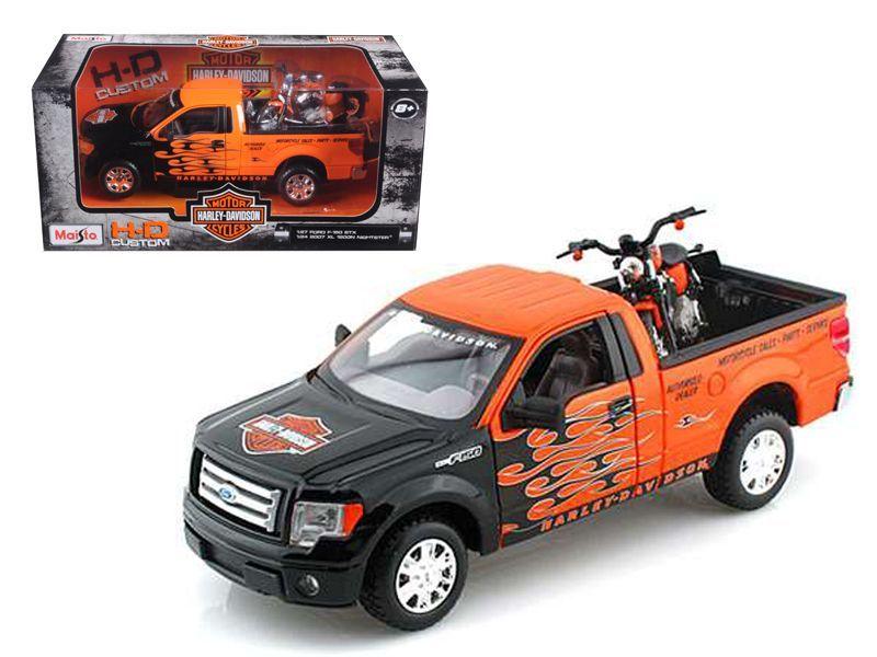 2010 Ford F150 Stx Pickup 127 Orange With Flames 2007 Xl1200n Rhpinterest: 2007 Ford Pick Up Radio At Gmaili.net