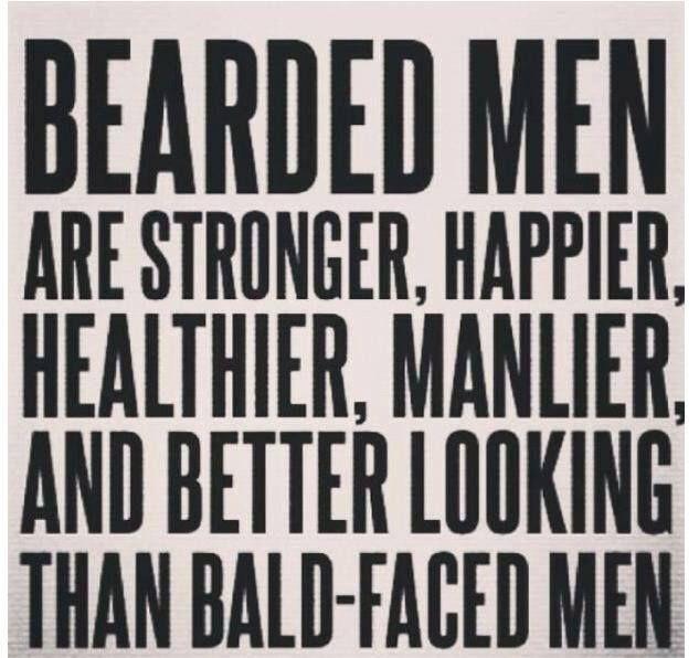 Pinterest says so. It must be true. #beardlove