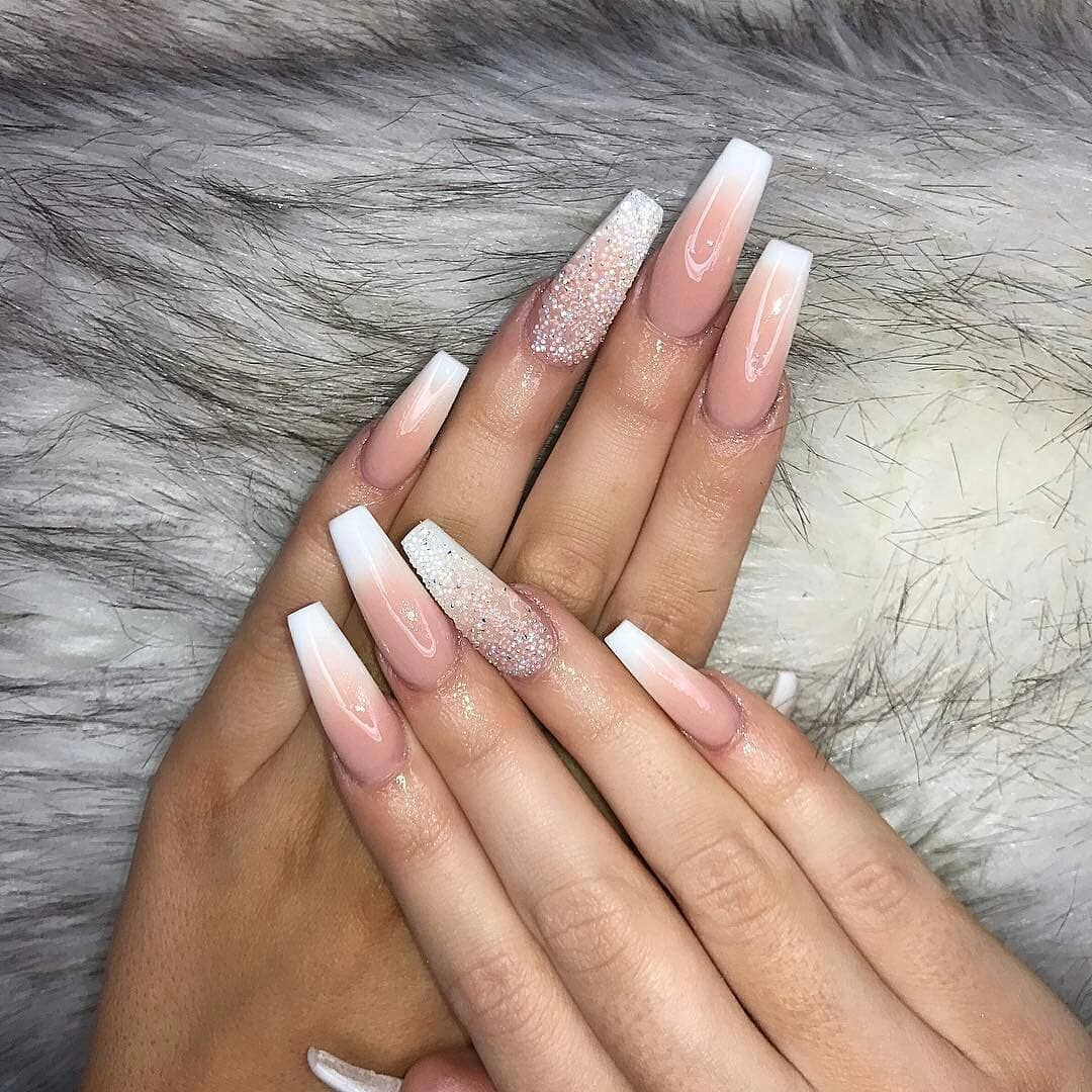 Amazing Nails Agree For More Fashion Check Our Page Follow Like And Leave A Comment Bellow Shopin Prom Nails Ombre Acrylic Nails Nail Designs Pictures