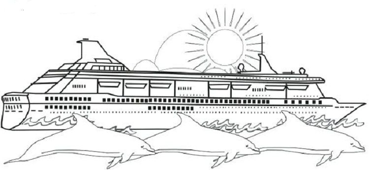 Cruise Ship Coloring Pages Coloring Pages Coloring Pages To Print Disney Coloring Pages