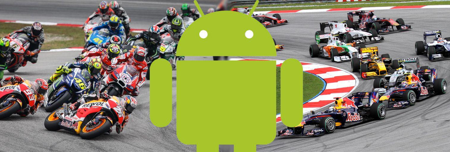 Conoce sobre Fórmula 1 y MotoGP: cómo seguir las competiciones en Android