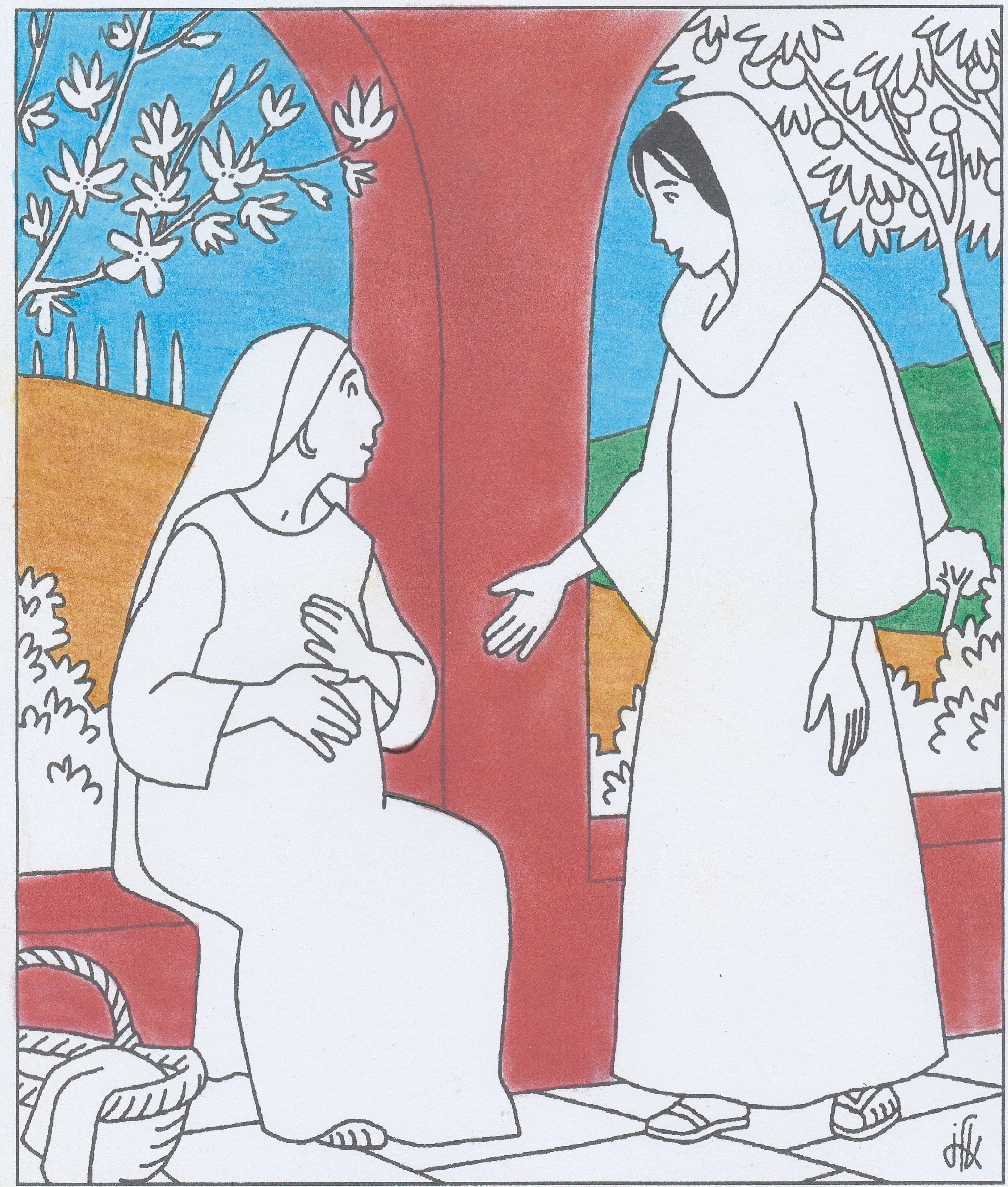 zie ook knutsels Nieuwe Testament | Bijbel: kleurplaten om af te ...