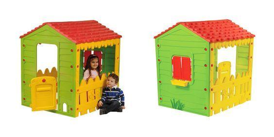 Kinderspielhaus Farm House Spielhaus Kinder Kunststoff äußere