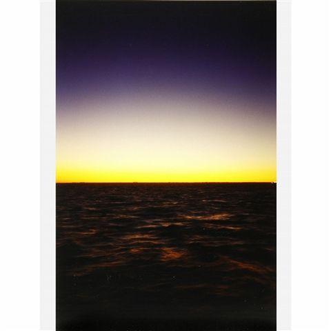 Wolfgang Tillmans, Fire Island, c-print, 1995-2000 #light #fire #island #dawn #emptiness #desert #unreal #deep #solitude
