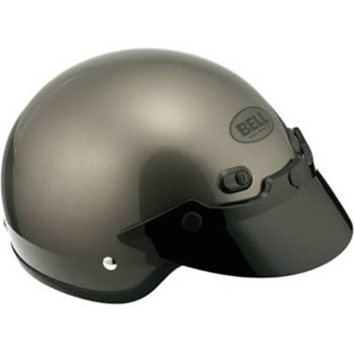 Bell DOT Shorty Motorcycle Helmet - Anthracite