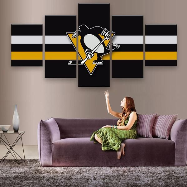 Delightful HD PRINITED LIMITED EDITION Pittsburgh Penguins CANVAS · Pittsburgh PenguinsDiy  IdeasRoom