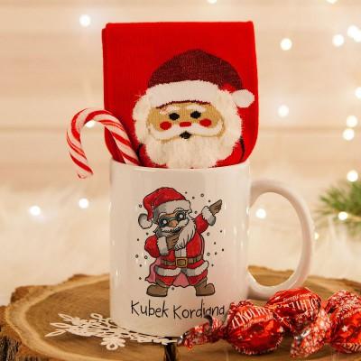 Prezent Na Boze Narodzenie Slodki Kubek I Skarpetki Glassware Tableware Mugs