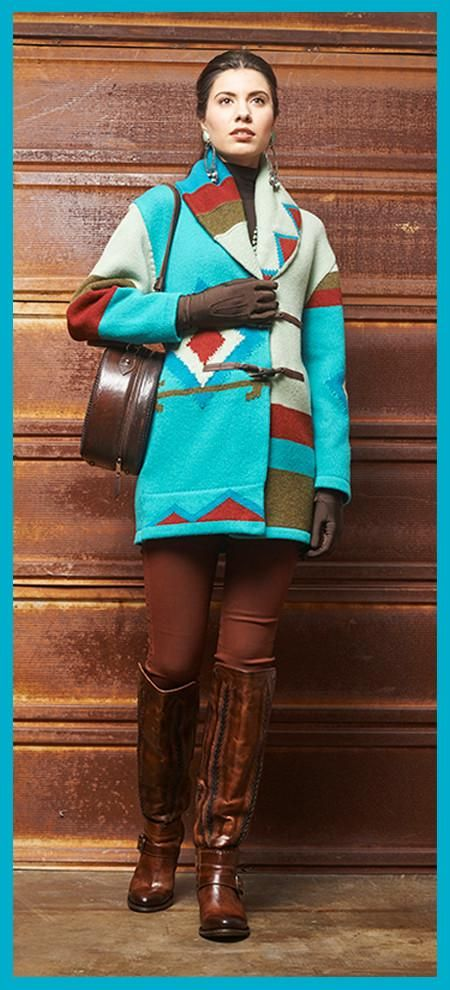 Photo of Roja Winter Desert Cocoon Coat
