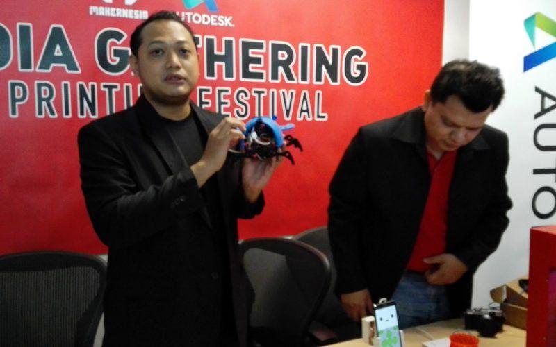 Cara Makernesia Memopulerkan Teknologi 3D Printing di Indonesia