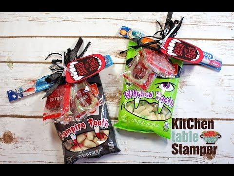 Halloween Idea | Kitchen Table Stamper