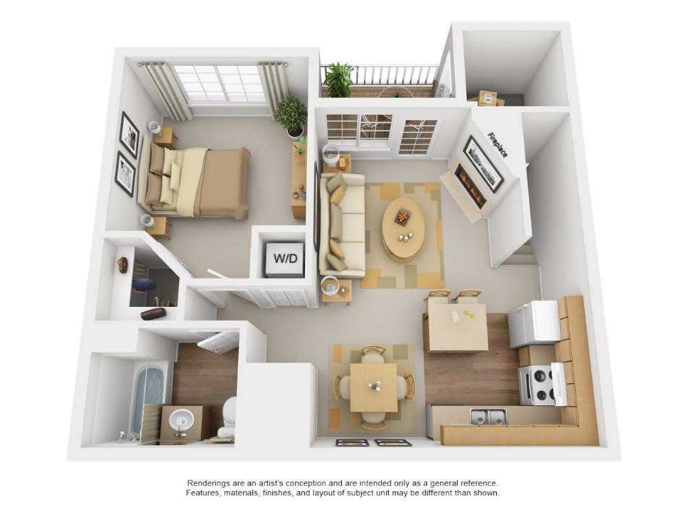 One, Two, & Three Bedroom Apartments in Loveland, CO