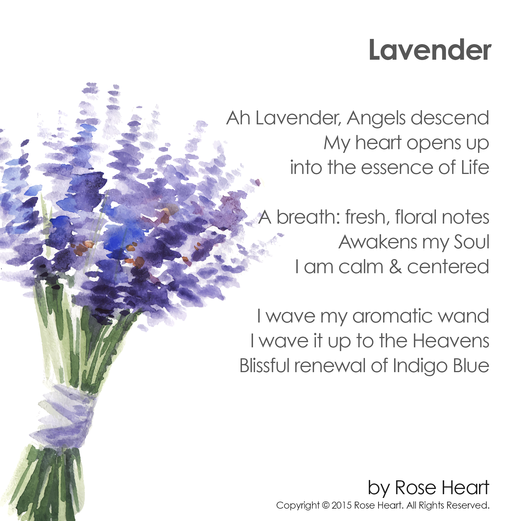 Enjoy This Spiritual Poem About Lavender Let It Soothe Your Spirit In The Same Way Lavender