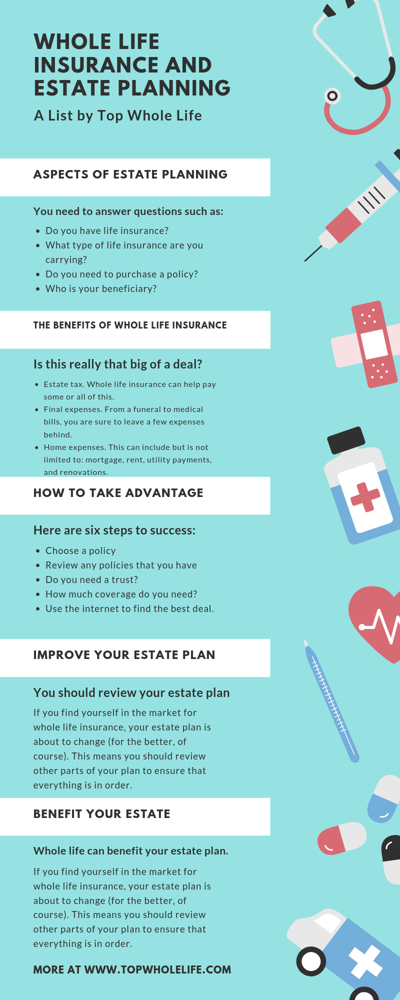 Whole Life Insurance Estate Planning Whole Life Insurance Life Insurance Premium Estate Planning