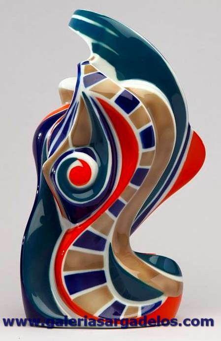 Sargadelos hace un gui o a la naturaleza abstracta - Ceramica de sargadelos ...