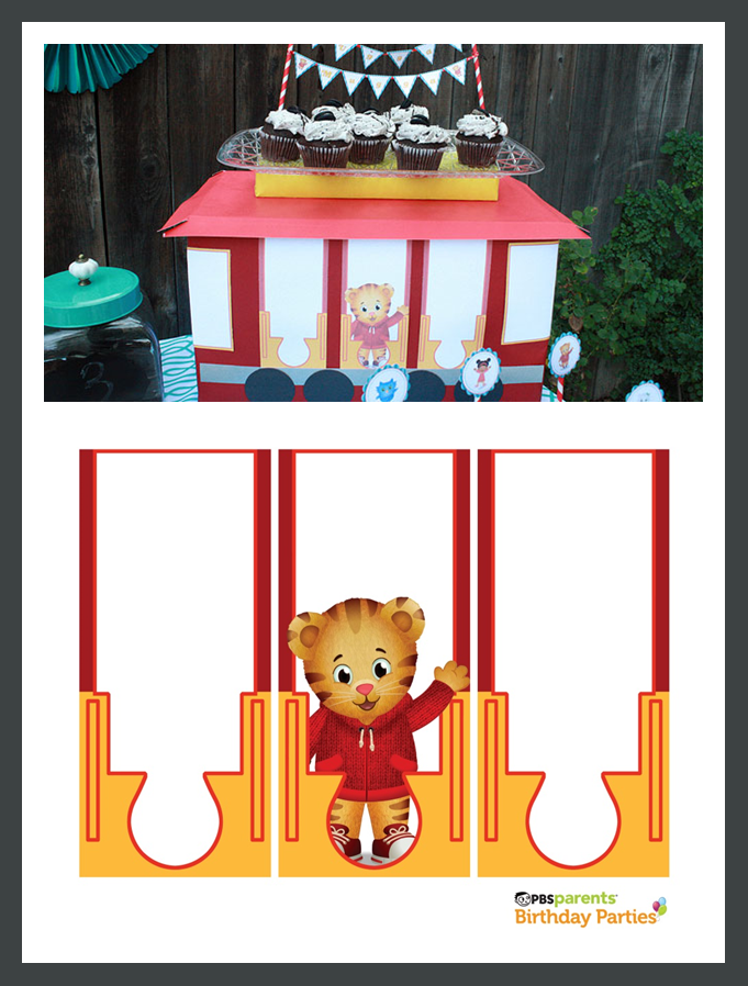 Pin By Dominique Mealey On Birthday Party Tiger Birthday Party Daniel Tiger Birthday Tiger Birthday
