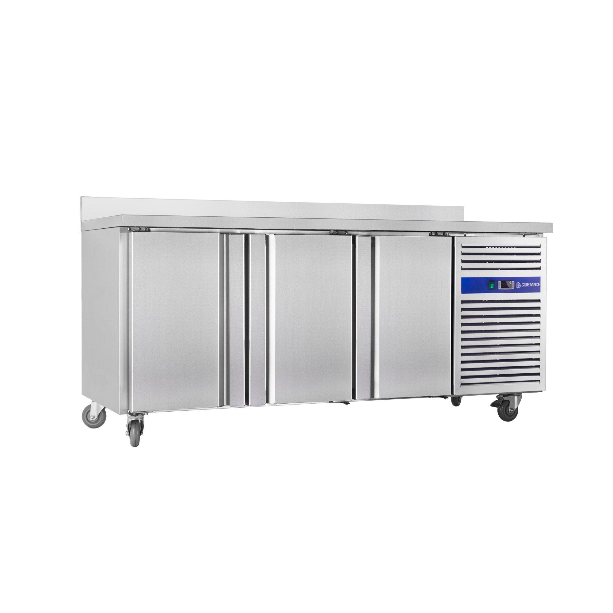 Cuistance Desserte Refrigeree 600 En Inox Adosse 3 Portes Positive En 2020 Degivrage Meuble Inox