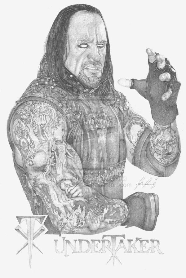 The Undertaker By Lucas 21 On Deviantart Wwe Traditional
