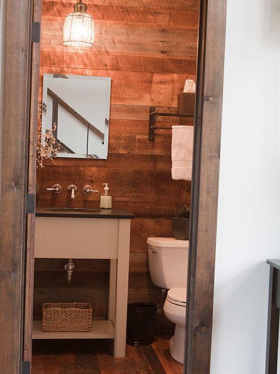 Barnwood Walls Bathroom Design Barn Wood Barnwood Wall