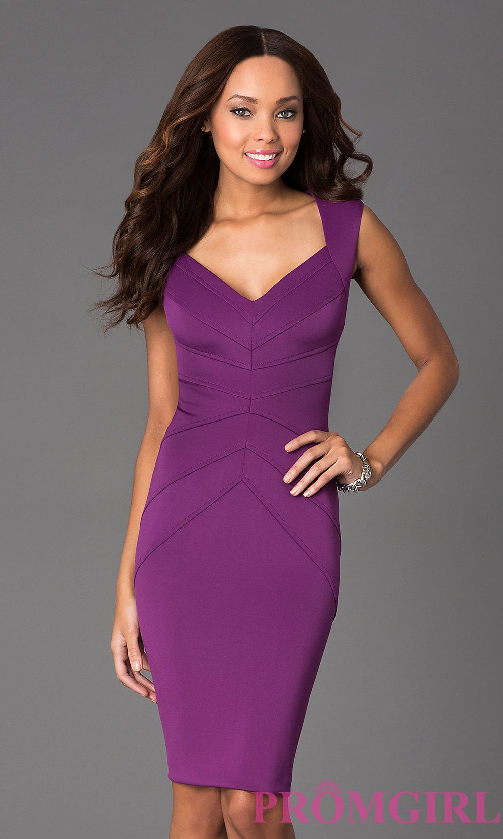 Prom Dresses, Plus Size Dresses, Prom Shoes: Sleeveless Knee Length ...