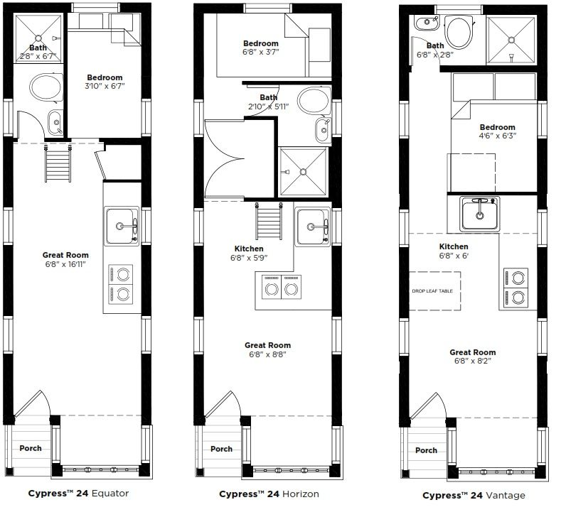 Tumbleweed Cypress Equator Floor Plan Google Search