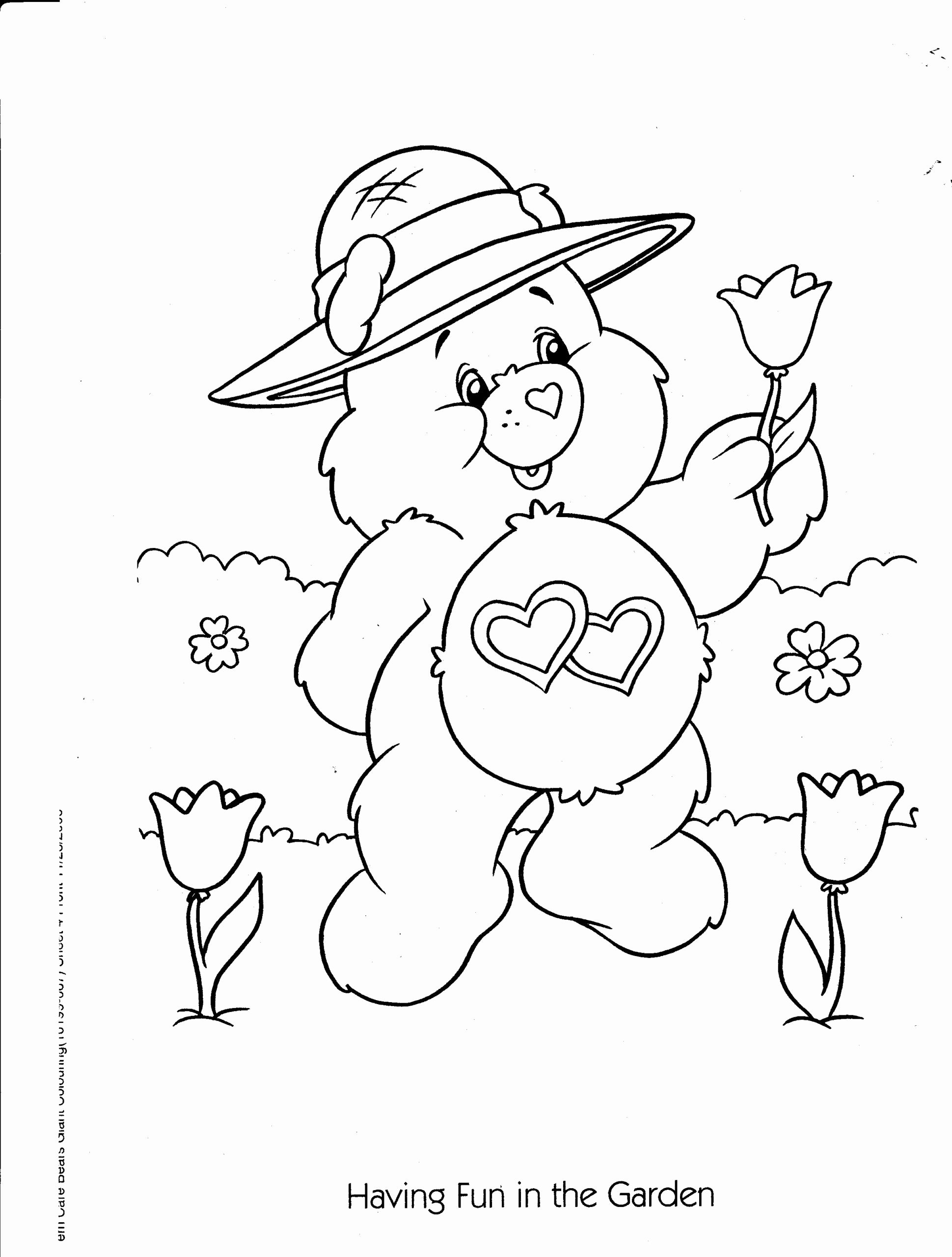 Care Bear Coloring Book Inspirational Coloring Pages Care