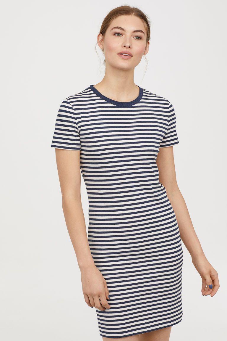 c9a1b17fdf H&M Jersey Dress - Beige | My Style | Dresses, Shirt Dress, Dress ...