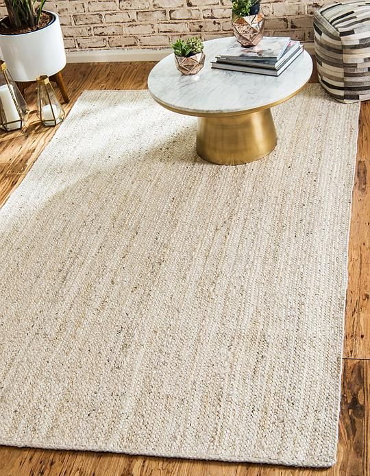 9x12 459 00 Great Reviews White Braided Jute Area Rug Area Rugs Natural Area Rugs White Area Rug