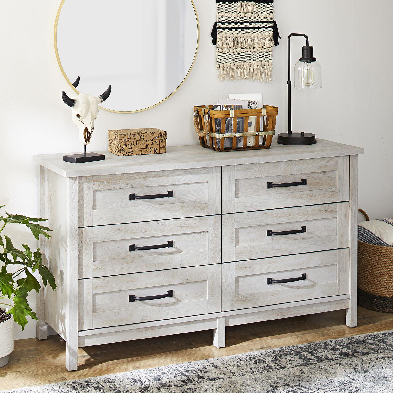 Better Homes & Gardens Modern Farmhouse 9-Drawer Dresser, Rustic