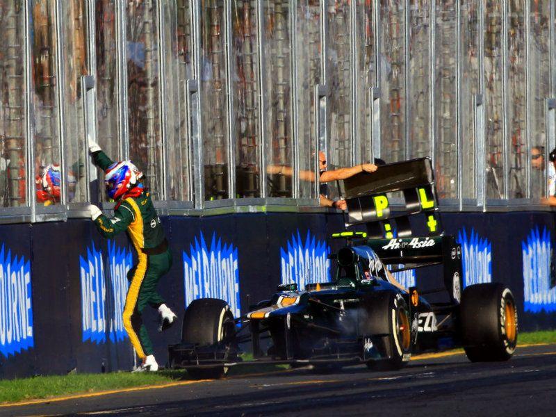 Formula 1 Australian GP Race / Vitaly Petrov Formula 1