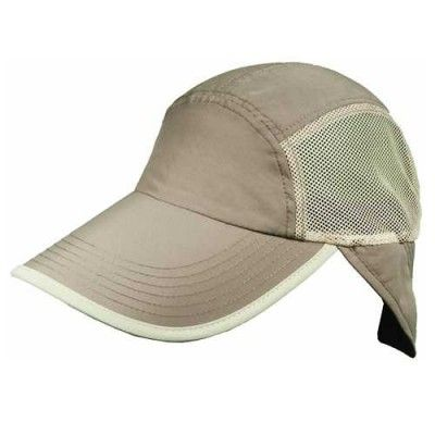 Panama Jack Men s Fishing Cap With Sun Shield (Khaki Green One Size ... b75c0c94a31