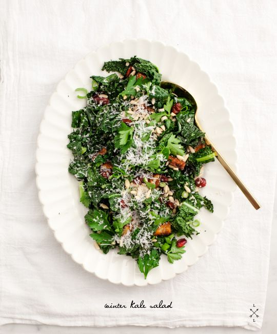 Winter Kale Salad // Love & Lemons