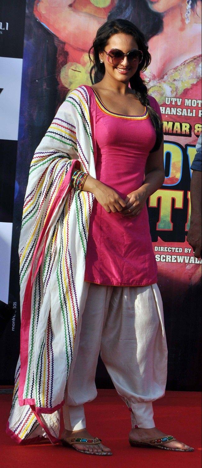 Sonakshi Beautiful sinha salwar kameez dresses photos