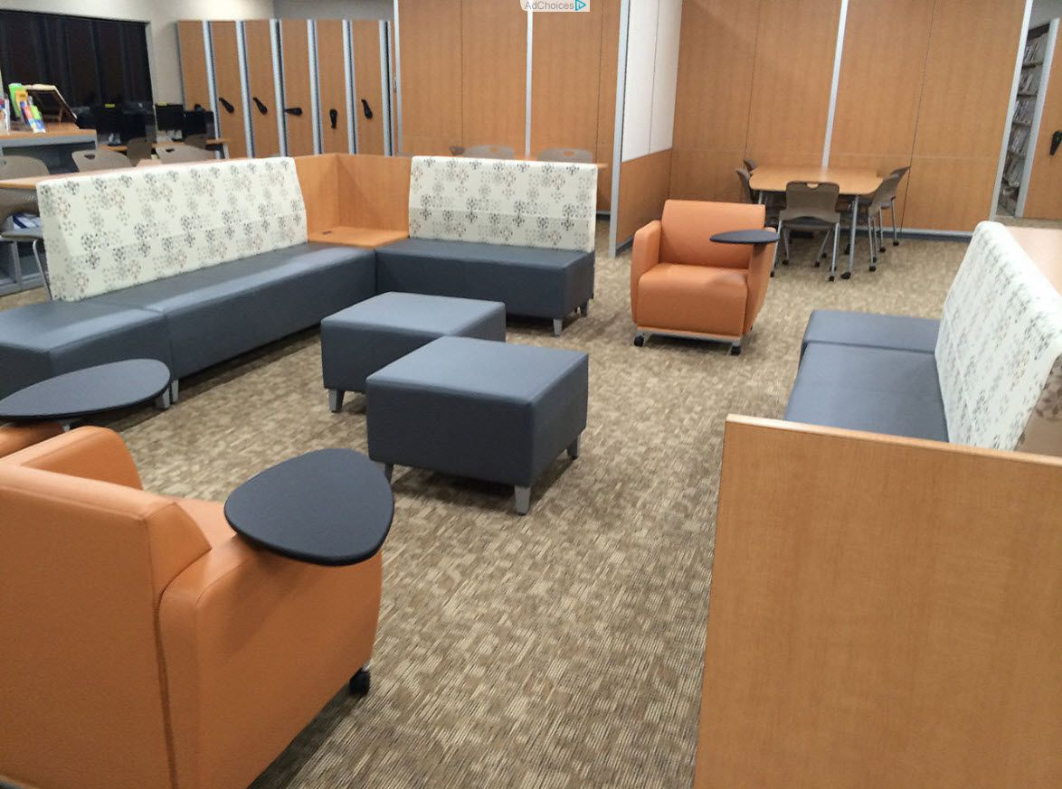 Genial Baker College Of Jackson (Jackson, MI) Fringe And Swift Lounge Furniture In  Collaborative