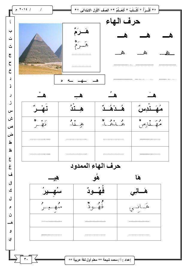 شرح منهج اللغة العربية للصف الأول الابتدائى ترم اول Learning Arabic Learn Arabic Alphabet Learn Arabic Language