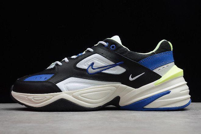 official photos 2d501 52066 Nike M2K Tekno Black Royal Blue-Volt CI2969-002