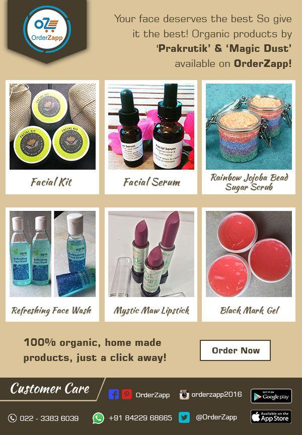 Get your face rejuvenated with these magic products. Download app to order - http://bit.ly/1QIFVu5 or call to order +919167044100  #facialserum #facialkit #facewash #refreshments #refreshinggel #orderzapp #mumbai #navimumbai