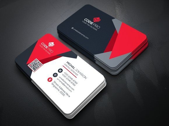 Creative Business Card By Creative Idea On Creativemarket - Business cards examples templates