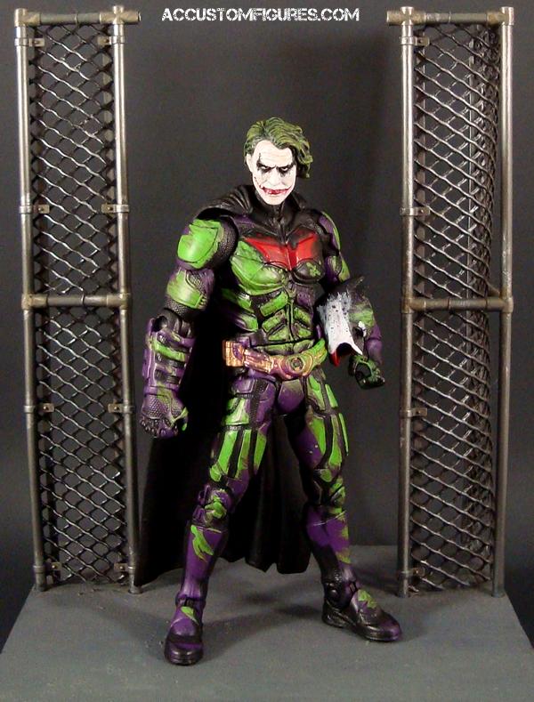 joker bat impostor dark knight movie masters custom