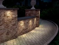 Cast Lighting Engineered Wall Light. Absolutly Beautiful When Installed In Retaining  Walls! This Light Is Very Sleek And Built Of Sand Cast Bronze So Will ...