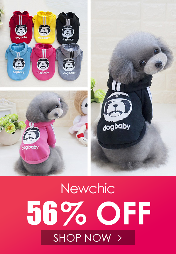 Dogbaby Sport Style Dog Hoodie Front Legs Pet Costume