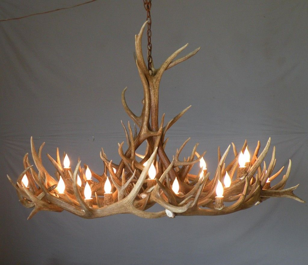 How To Make Antler Lamps Deer Chandelier Online Log Homes Counrty Living Pinterest